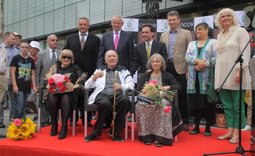 Trei noi stele pe Aleea Celebrităţilor: Valeria Seciu, Rodica Mandache şi Ion Besoiu
