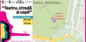 """Teatrul itinerant Ţăndărică """"se mută"""" în Parcul Herăstrău"""