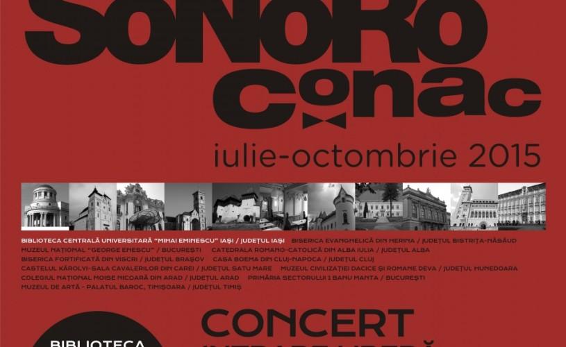"""A treia ediție SoNoRo Conac se deschide la Biblioteca Universitară """"Mihai Eminescu"""" din Iași"""