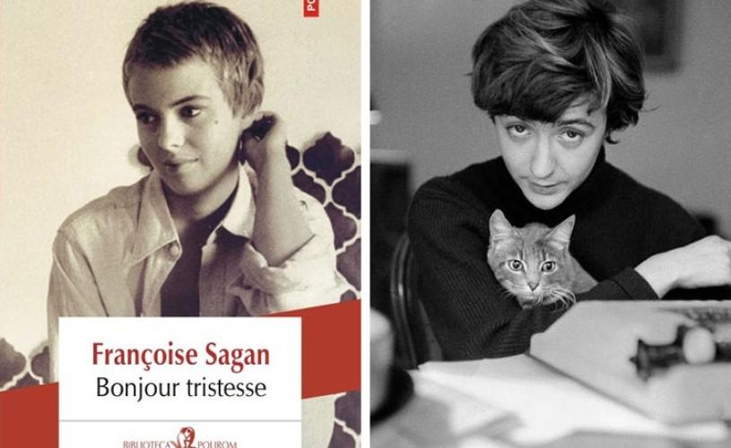 Romanul care a scandalizat societatea franceză la jumătatea secolului trecut: Bonjour tristesse, de Françoise Sagan