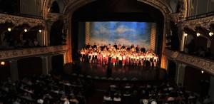 300 de copii pe scena Cantus Mundi de la Iași