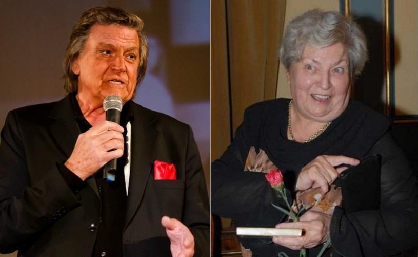 Florin Piersic şi Draga Olteanu Matei, la lansarea cărţii lui  Grigore Gonța