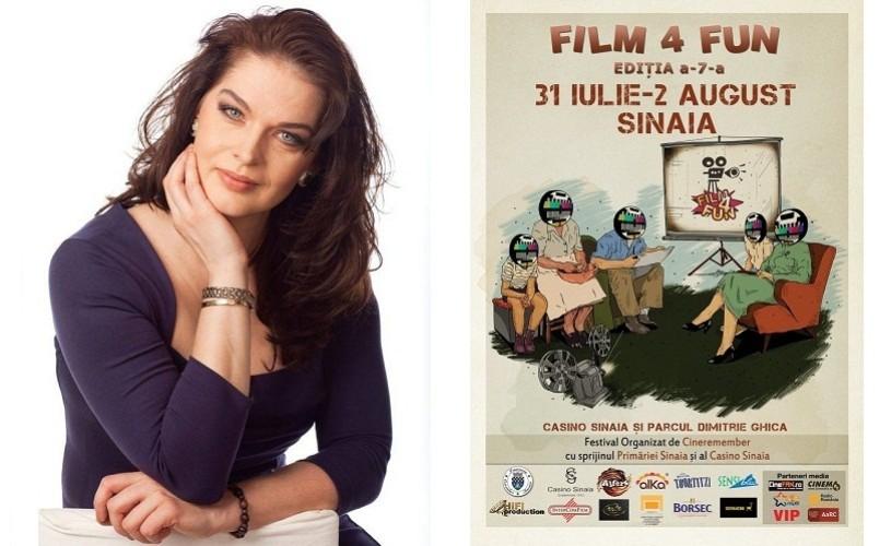 Film 4 Fun, în acest weekend, la Sinaia. Manuela Hărăbor, gazda evenimentului