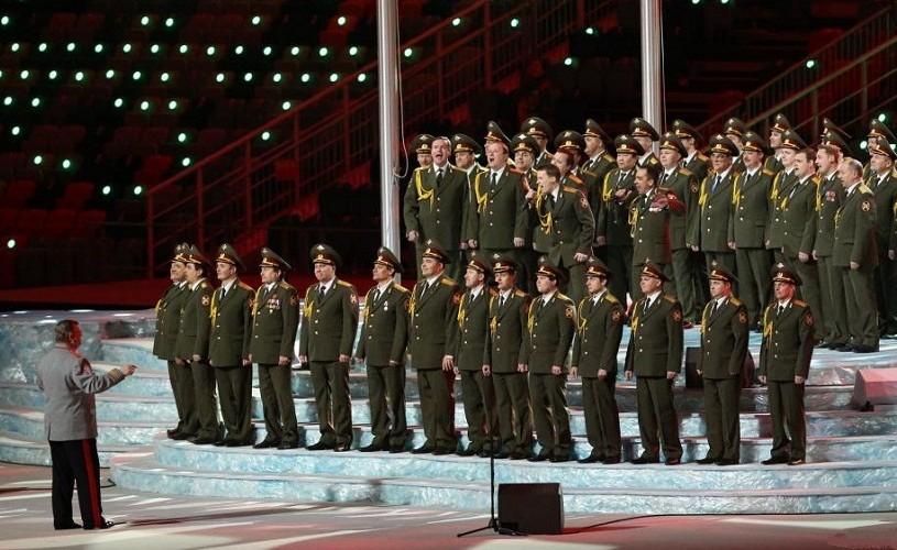 Corul Armatei Roşii, încă o reprezentaţie, la cererea publicului