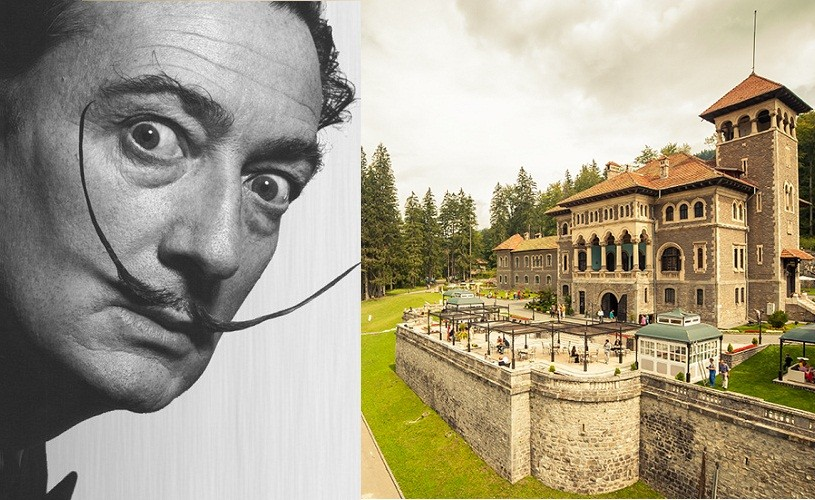 Castelul Cantacuzino din Bușteni găzduieşte peste 200 de lucrări ale lui Salvador Dali