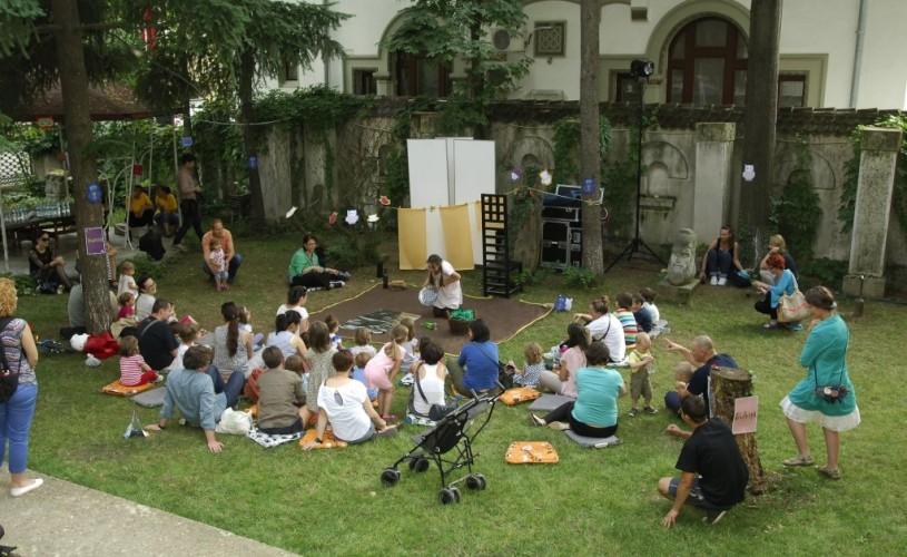 Ateliere pentru toate vârstele în grădina Institutului Cultural Român