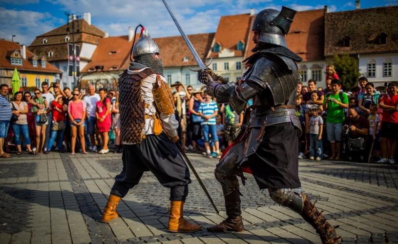 Toate drumurile duc la… Festivalul Medieval de la Sibiu