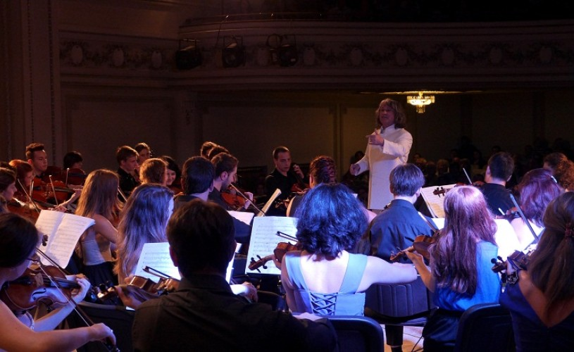 Romanian Sinfonietta, la Festivalul Young Euro Classics de la Berlin