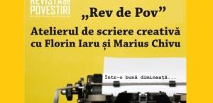 Atelier de scriere creativă cu Marius Chivu și Florin Iaru