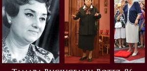Tamara Buciuceanu-Botez, 86 de ani. La mulţi ani!