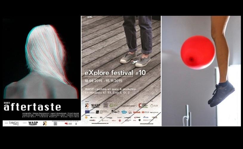 Spectacolul 0003_AFTERTASTE, în premieră la eXplore festival #10