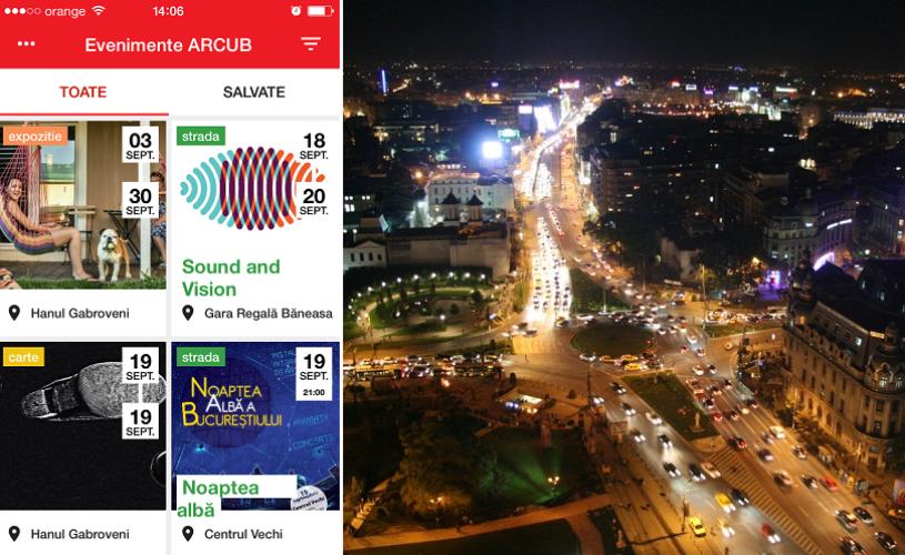 S-a lansat aplicatia mobilă ARCUB!