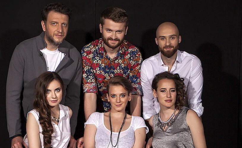 BLUENOISE, trupa a cappella finalistă la Eurovision, în recital la Sala Radio