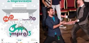 Singurul Festival de Improvizatie din România se joacă la TNB
