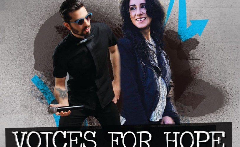 Voices for Hope – Anda Dimitriu și Claudiu Rusu de la Vocea României cântă pentru copiii vulnerabili