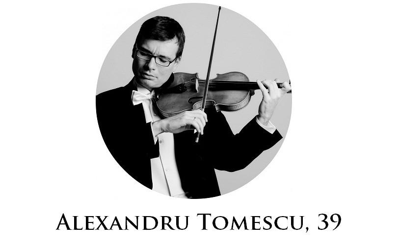 Alexandru Tomescu, 39. La multi ani!