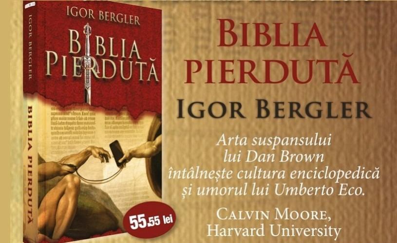 Biblia pierduta, record de precomenzi pentru piaţa de carte românească