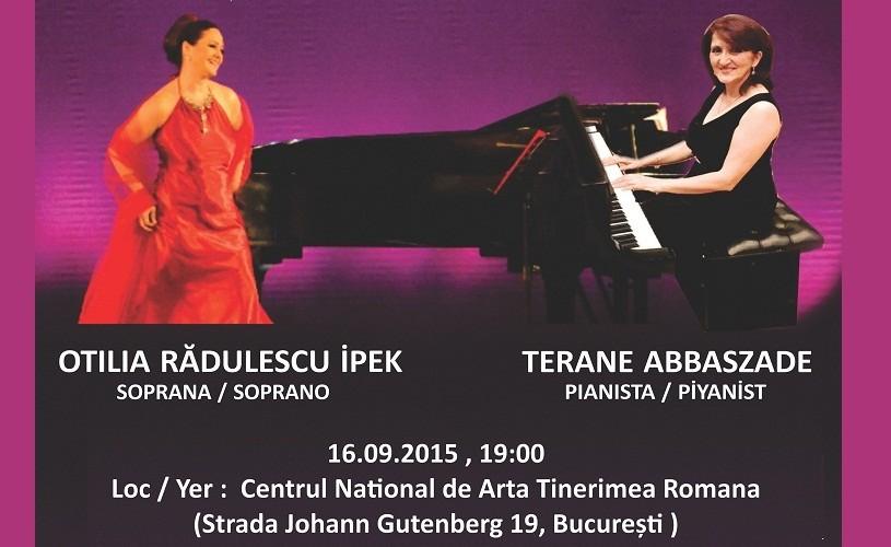 Soprana de origine română OTILIA RĂDULESCU IPEK, vedeta Operei Naționale din Istanbul