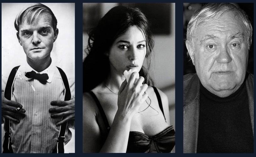Truman Capote, Monica Bellucci, Dem Rădulescu…