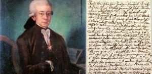 O scrisoare a lui Mozart, vândută cu 217.000 de dolari