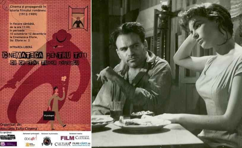 """""""Cinemateca pentru toţi"""", cu Cristian Tudor Popescu, la Cinemateca Eforie"""