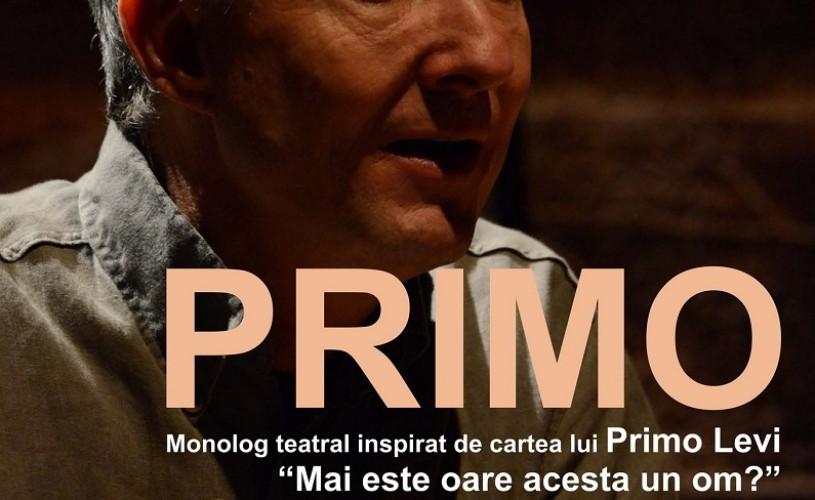 """Primo, un monolog inspirat de cartea lui Primo Levi """"Mai este oare acesta un om?"""", la Odeon"""