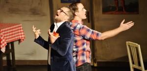 Bogdan Talașman și Alexandru Suciu - despre rolul din Hârca, limite și bucuria de a fi pe scenă