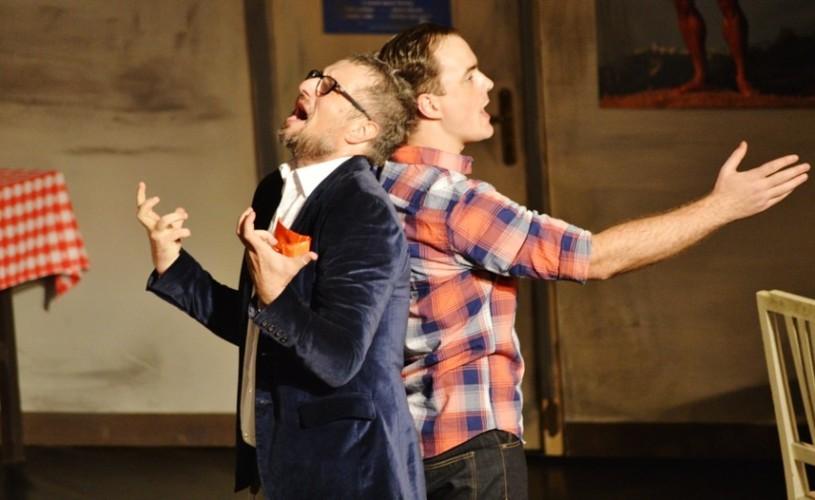 Bogdan Talașman și Alexandru Suciu – despre rolul din Hârca, limite și bucuria de a fi pe scenă