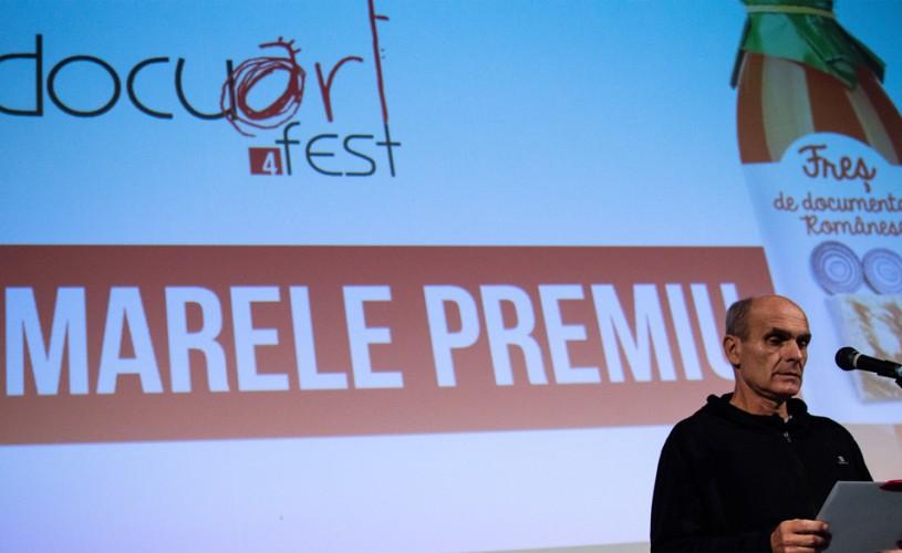 Cristian Tudor Popescu, Magda Mihăilescu și Marian Crișan au acordat 8 premii la Docuart Fest