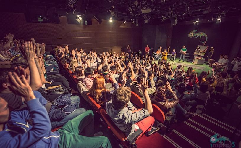 Festivalul Național de Improvizație a fost despre libertate, emoție și bucurie sinceră