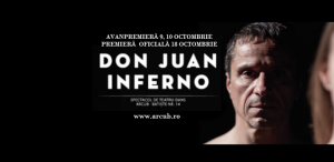 Don Juan Inferno. Un nou spectacol de teatru-dans la ARCUB Batiște
