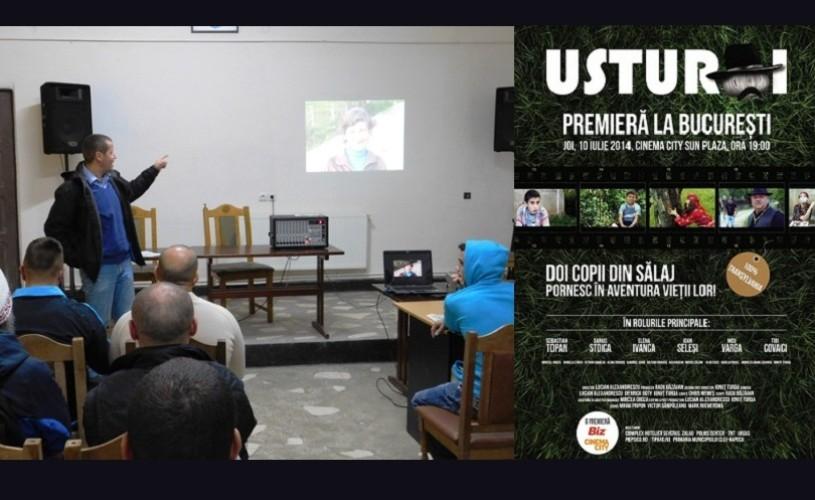 Filmul Usturoi, difuzat în penitenciarul de maximă siguranță din Aiud