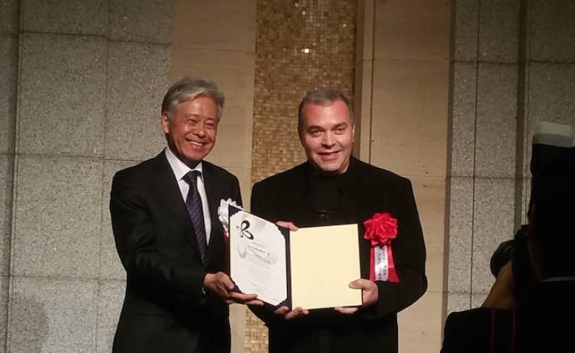 Constantin Chiriac, directorul Teatrului din Sibiu, primit cu fast de cea mai longevivă monarhie ereditară din lume