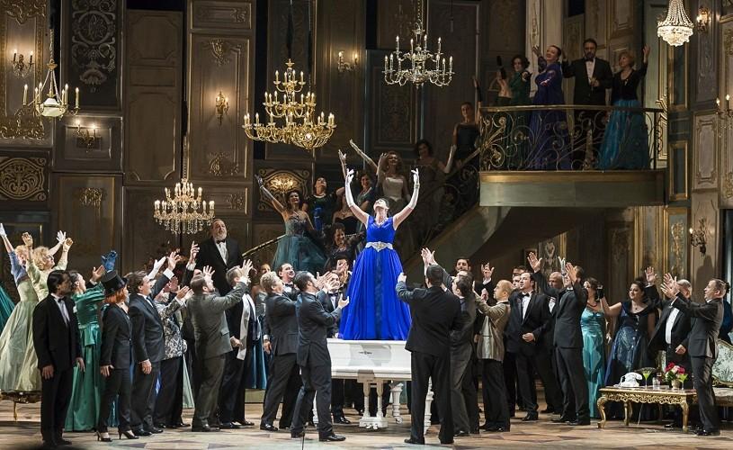 """""""La traviata"""", spectacolul Operei Naţionale din Bucureşti, preluat de Opera Philadelphia"""