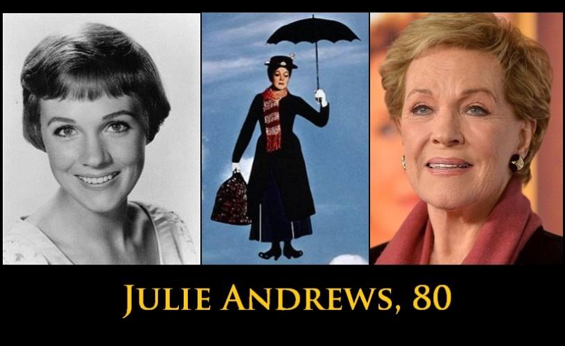 Julie Andrews, 80!