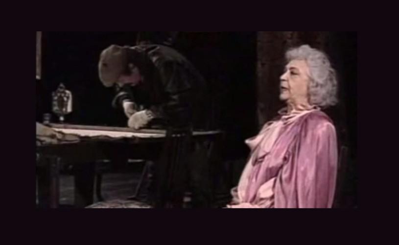 Bătrâna și hoțul, în această seară, la TVR 2 – Teatru TV