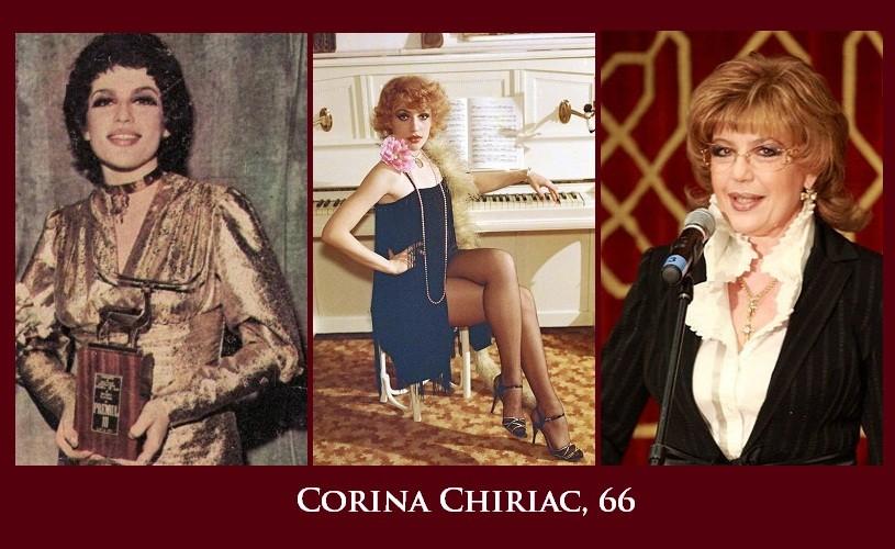 Corina Chiriac, 66. La mulţi ani!
