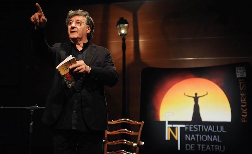 """Ion Caramitru: """"În rostire, poezia poate deveni spectacol al cunoașterii de sine"""""""