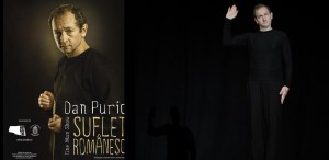 Suflet românesc - One Man Show cu Dan Puric, pe scena ARCUB