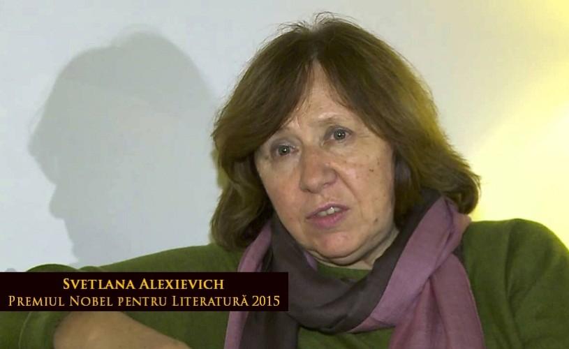 Svetlana Aleksievici, în curs de publicare la Humanitas