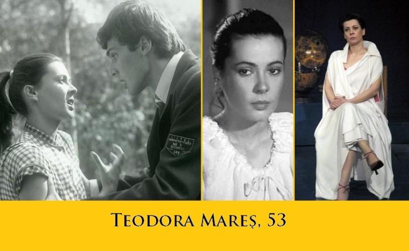 Teodora Mareş, 53. La mulţi ani!