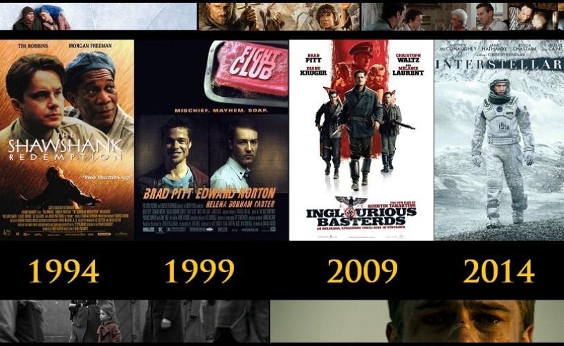Cele mai bune filme din ultimii 25 de ani