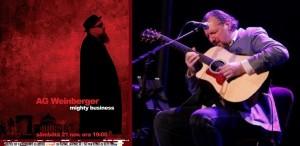 AG Weinberger îşi lansează noul album