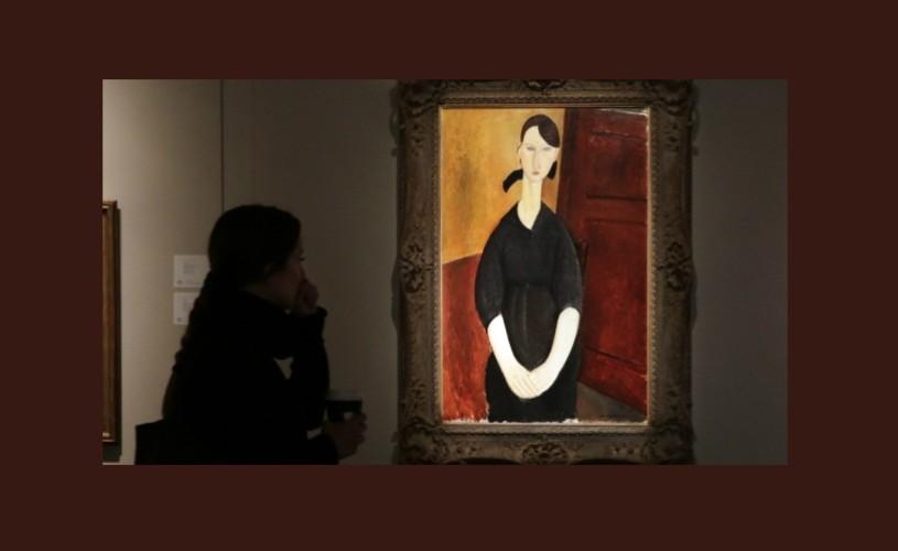 Un tablou de Modigliani, vândut cu 43 de milioane de dolari