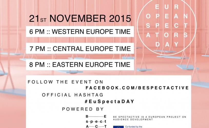 Be SpectACTive propune Ziua Europeană a Spectatorului pe 21 noiembrie