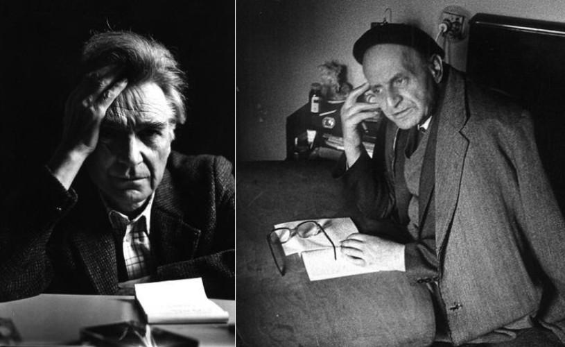 Trei scrisori în original adresate de Noica lui Cioran, prezentate publicului în premieră
