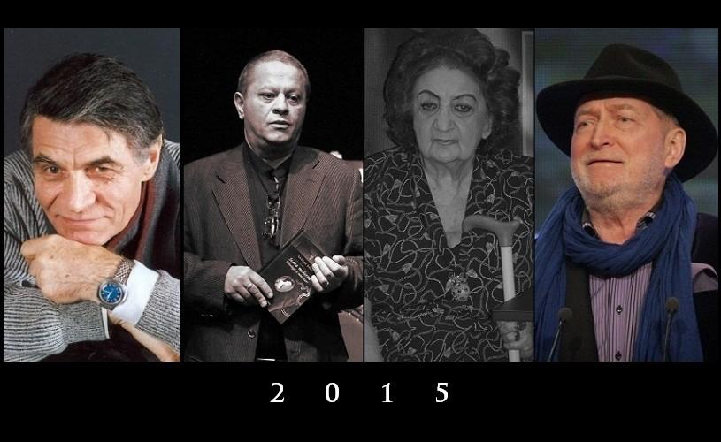 Mari nume ale culturii române care ne-au părăsit în 2015