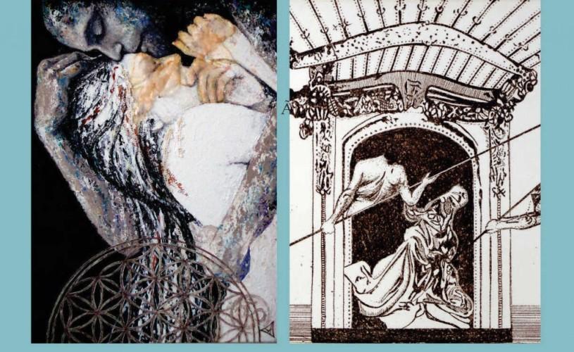 """""""Dual & Duel"""" – vernisajul expoziției de pictură, gravură și sculptură a artiștilor Eva Radu și ZuZu Caratanase"""