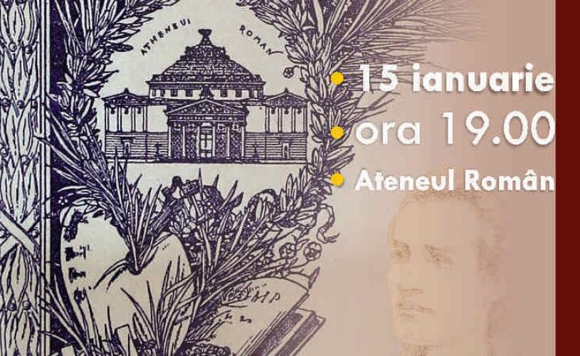 Ziua Culturii Naționale, sărbătorită la Ateneul Român