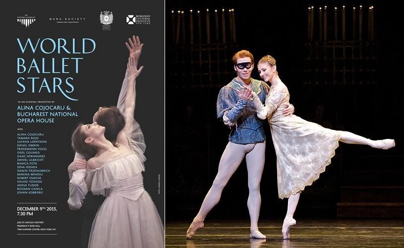 Stele ale baletului românesc și internațional, la New York
